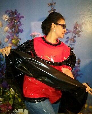 Adult Baby Kleid  INTEGRIERTE Windelhose Sissy PVC LACK Diaper Plastik L-XL 7