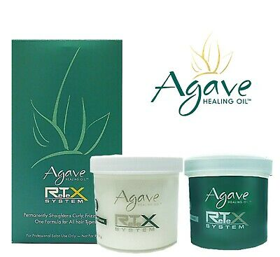 2 X Bio Ionic Agave Retex System Hair Straightening Kit 100
