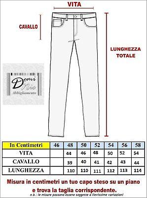 N+1 Pantalone Uomo Classico in Fresco Lana con Pens Cavallo Alto Gamba Larga Elegante Tasca Dritta Leggero Estivo