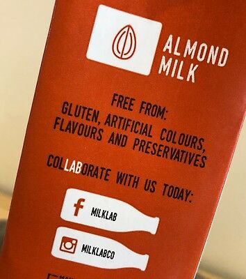 Milk Lab Almond Milk for Coffee (8x1L cartons) 5