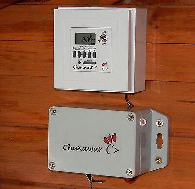 Chuxaway SCX Automatic Chicken Coop Pop Hole Opener with Timer & ALUMINIUM DOOR 2