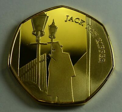 Pair of JACK THE RIPPER /& GREAT FIRE OF LONDON Full Colour Silver Commemoratives