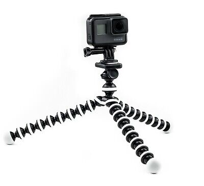 Octopus Flexible Tripod Mount Stand for GoPro Hero 7 6 5 4 3 Action Cam Go Pro 2