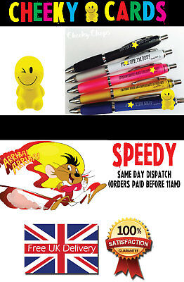 Funny Pens - Rude Cheeky Novelty Office Stationary Secret Santa Sweary Pen PEN08 3