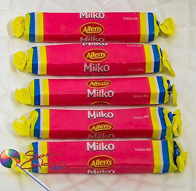 Allen's - Milko Sticks - 64 Sticks (approx) - Allens Party Lollies 800g 2