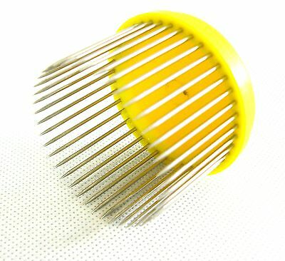 Beekeeping Queen bee Isolator / Needle cage - yellow