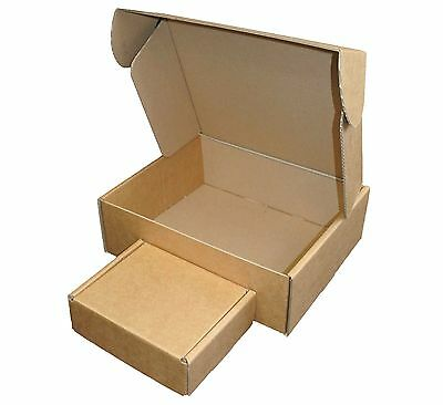Brown Cardboard Postal Boxes - Royal Mail Small Parcel Mailing & Shipping Boxes 2
