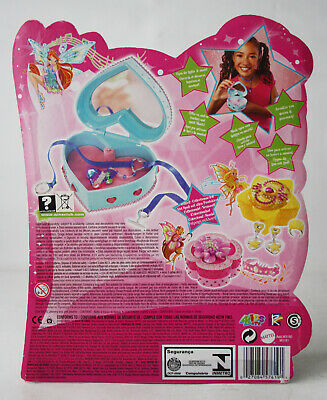 VERY RARE 2007 WINX CLUB MUSICAL JEWELRY BOX EUROPEAN MATTEL NEW SEALED !