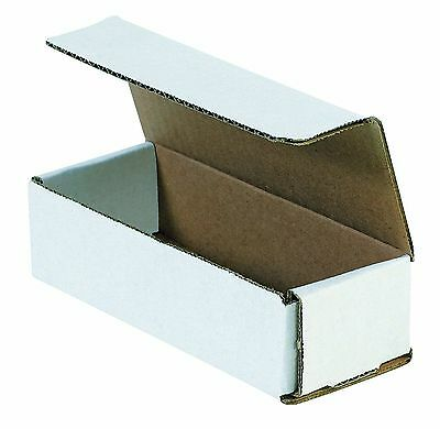 WHITE CORRUGATED MAILERS MANY SIZES 50 100 200 Shipping Packing Boxes Mailers 2
