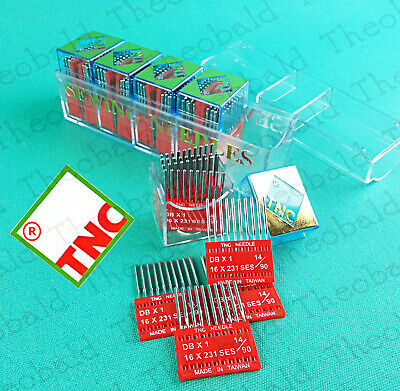 "Denim//Jean  10//Pack HAx1 /""TNC/"" Sewing Machine Needles Universal  130//705H"