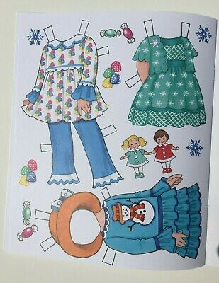 *NEW!* CANDY CANE CHRISTMAS Paper Dolls - Super cute! By Eileen Rudisill Miller 7