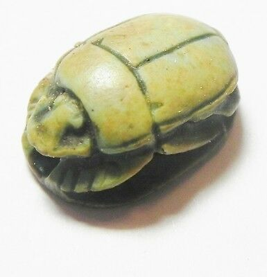 Zurqieh - Af2283- Ancient Egypt. New Kingdom. Stone Scarab. 1400 B.c