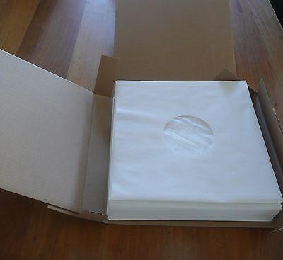 50 Sous-pochettes papier doublées 33T VINYLES  Sachet intérieur en polyéthylène