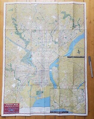 Philadelphia & Vicinity Street Car &. Subway map 1956 PTC Transit VGC Large 2