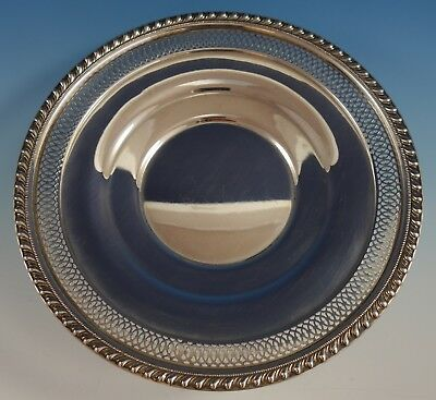 English Gadroon by Gorham Sterling Silver Serving Plate Pierced Edge (#2542) 2