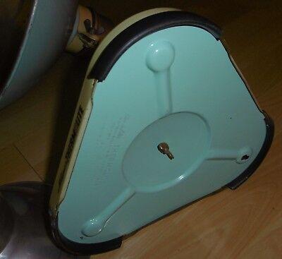 arzt tisch /wand lampe wärme alt top deko mint / gelb thermolite super 60 / 70er 12