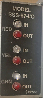 Traffic Light Control SSS-87 I/O  Load Switch Red Green Yellow