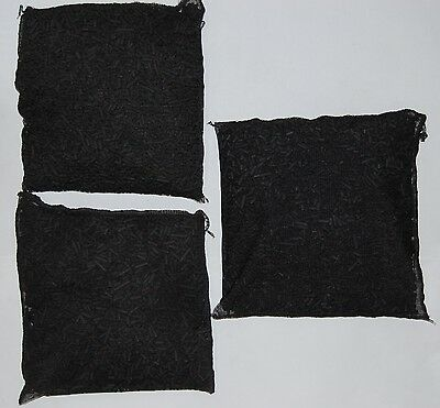 Aktivkohle Filterkohle Filterstäbchen Filtermaterial Granulat  - 3 x 500 g  - 2