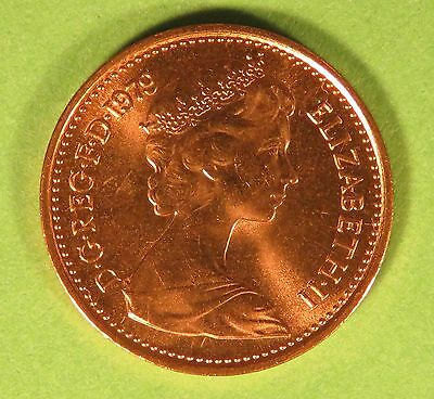 1979 Half Pence  Coin In Uncirculated Condition 2