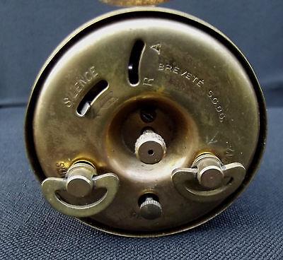 Duverdrey & Bloquel BAYARD clock alarm desk  Art Deco design 1930's 6 cm x 6 cm 3