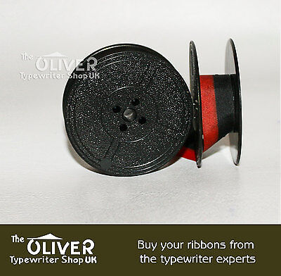 Underwood 3, 4 and 5 Red & Black Typewriter Ribbon for Antique Manual Machines 3 • EUR 3,92