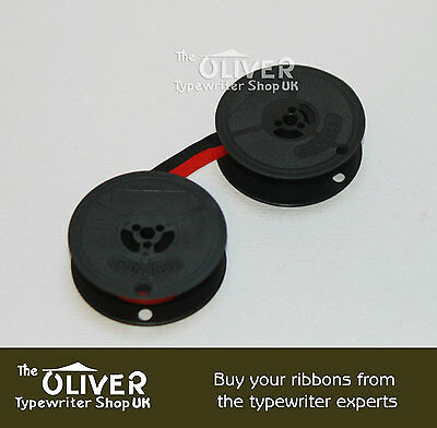 Boots Black And Red Typewriter Ribbon And Spool For Pt400,pt800,pt900,pt1000 3