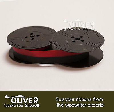 COMPATIBLE BROTHER  DeLuxe 800T  TYPEWRITER RIBBON  BLACK OR BLACK AND RED 2
