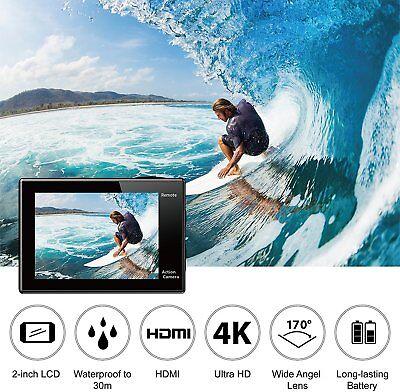 Eken® H9R Sport Action Pro Cam Ultra Hd 4K Wifi Videocamera Subacquea Originale 3