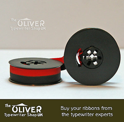 ROYAL JUBILEE 10 or 12  TYPEWRITER RIBBON & SPOOL BLACK OR BLACK AND RED