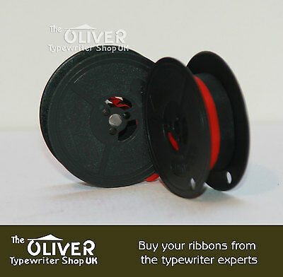 OLYMPIA BLACK AND RED TYPEWRITER RIBBON (SM3,SM4, SM7,SM9 Deluxe models) 2