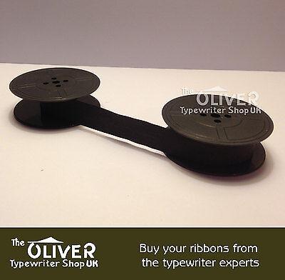 CONSUL BLACK TYPEWRITER RIBBON,Portable, Silent,2223,221,224(Norwood)Silver Reed 2