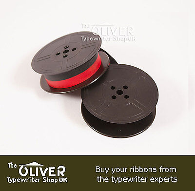 Underwood 3, 4 and 5 Red & Black Typewriter Ribbon for Antique Manual Machines 2 • EUR 3,92