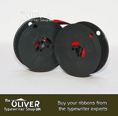 Daro Optima Elite 3 Ascota Erika Typewriter Ribbon & Spool Black / Black And Red 3
