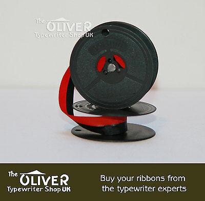Daro Optima Elite 3 Ascota Erika Typewriter Ribbon & Spool Black / Black And Red 5