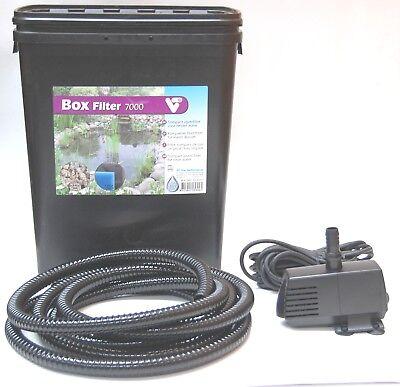 SF Filterset PondClear KIT 3000 Teichfilter UVC 5 Watt Pumpe