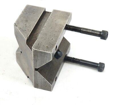 """1 9/32"""" x 2"""" x 2.789"""" Precision Machinist Milling V Block with Security Bolts 2"""