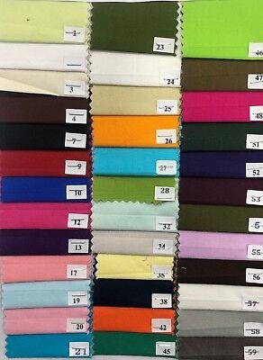 "45"" 100% Cotton Poplin Dyed Fabric Oeko-Tex Certified Craft, Face Masks & Scrubs 4"
