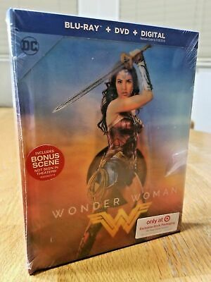Wonder Woman Target Exclusive Ultra Rare Lenticular DigiBook Blu-ray+DVD 2