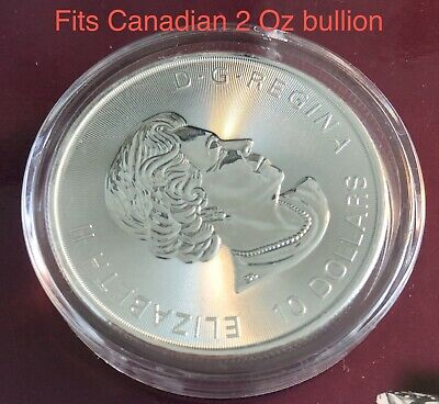 Coin Capsule - 2Oz Queen Beast Silver Coin 39mm Double Thick - Ship from Canada 3