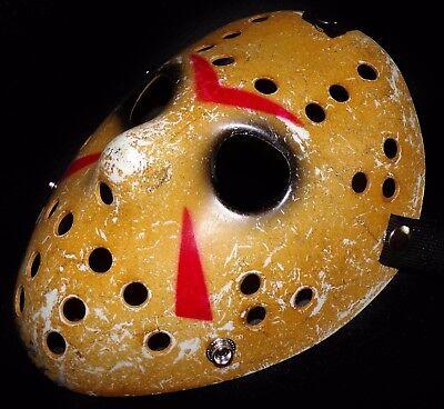 Jason Voorhees Maske Vintage Ice Hockey Horror Maske Freitag der 13 Jason Maske