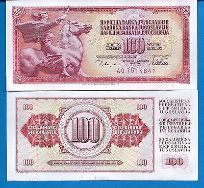 Yugoslavia 5,10,20,50,100,500,1000, Dinara Uncirculated Banknotes Set # 6