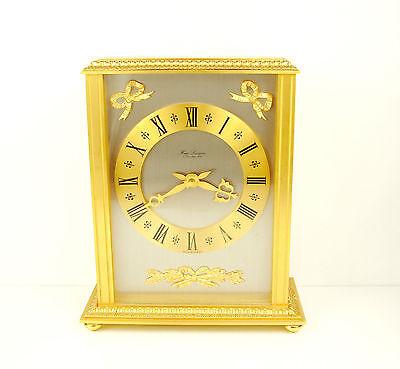 Clock Lavigne Pendulum Napoleon III Bronze H:24 cm 5,5 kg Wide Clock c1980 5