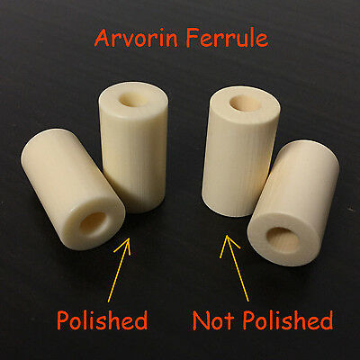"ARVORIN - Imitation Resin Based Ivory Substitute Material 12"" Rod Block 3"