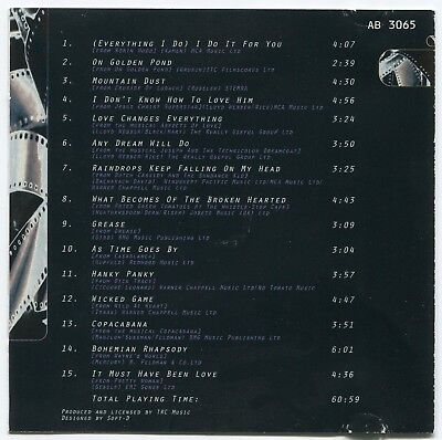 [Bee Gees Cover] Covertones~Music From The Movies & The Musicals~Uk 15-Track Cd 2