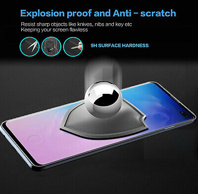 Samsung Galaxy S10 5G S9 S8 Plus S10e Note 9 8 Tempered Glass Screen Protector 6