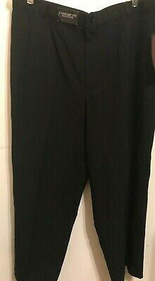 Women's Dress Pants/Fit Elastic Waistband Comfort/ Pockets/Size 18 /Made in USA 3