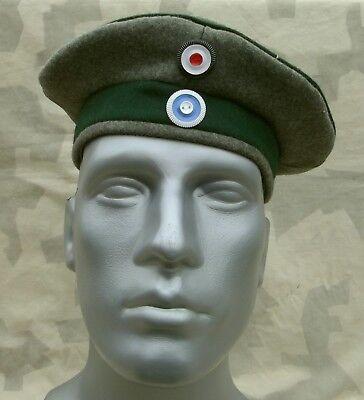 WK1 Preussen Einheits Feldmütze M1917 Krätzchen Gr.60 Robert Lubstein Jäger