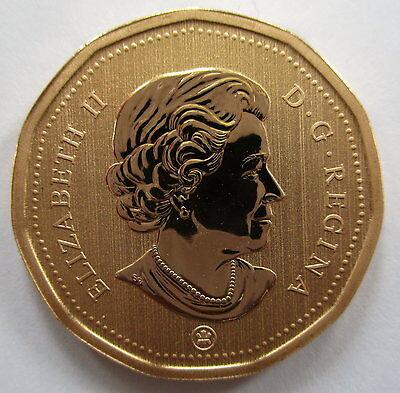 2011 Canada $1 Loonie Specimen Dollar Coin 2
