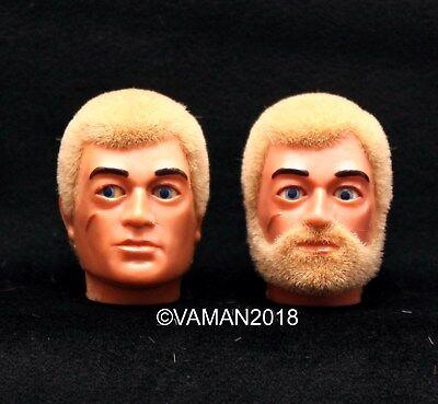 Vintage Action Man ~ GI Joe ~ 1//6 ~ Head Re-Flocking ~ Old Heads Re-Flocked