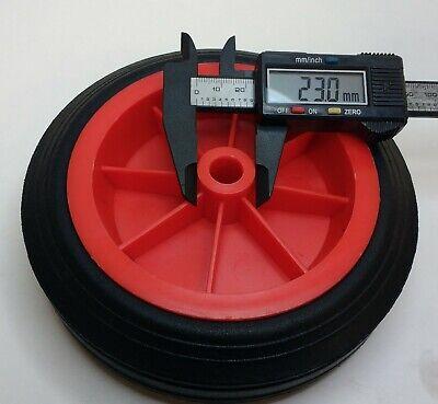 Replacement Jockey Wheel Red Plastic Fits Mp431 432 160Mm Genuine Maypole Mp430 4
